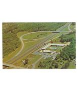 Holiday Inn Motel Newburgh New York Aerial View Vtg Hotel Postcard - $4.99