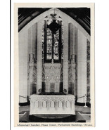 Canada Ottawa Parliament Memorial Chamber Interior Peace Tower Vtg Postcard - $5.62
