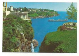 Turkey Antalya Kadin Precipice Cliff House Vtg Postcard 4X6 - $6.49