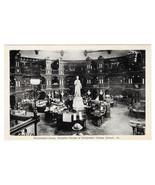Canada Ottawa Parliament Library Interior Vtg Photo Tex Postcard - $6.49