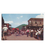 NC Maggie Valley Ghost Mountain Park Gun Duel Vintage North Carolina Pos... - $6.49