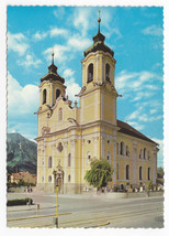 Austria Basilica Wilten Our lady of  Four Columns Innsbruck Tirol Postca... - $4.84