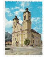 Austria Basilica Wilten Our lady of  Four Columns Innsbruck Tirol Postca... - $4.84