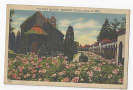 Washington DC Franciscan Monastery Rose Garden Chapel Portiuncula Linen ... - $4.99