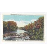 PA Spring Mountain House Perkiomen Creek Vtg Curt Teich Postcard - $6.49