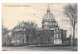Canada Montreal St James Cathedral Vtg Postcard - $6.49