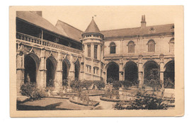 France Tours Psalette Cloister Galerie and Staircase Vtg A. Bruel Postcard - $6.49