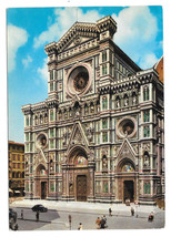Italy Florence Cathedral Firenze Vtg 1966 Postcard 4X6 - $4.99