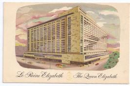 Canada Montreal Le Reine Elizabeth The Queen Elizabeth Hilton Hotels 1960 - $6.49