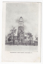 Alexandria VA Washingtons Home Church 1911 Vintage C.P.I. Postcard - $6.49