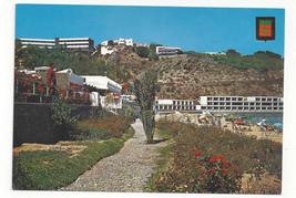 Morocco Maroc Al Hoceima Playa del Kemado Quemado Beach Vtg Postcard 4X6 - $4.84