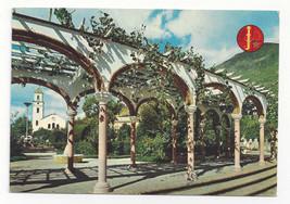 Morocco Maroc Chechaouen Arbor Garden Vtg Postcard 4X6 - $6.49