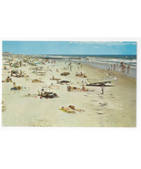 New Jersey  Beach Panorama Life Boat 1970s Don Ceppi Postcard - $5.52