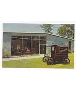 GA Stone Mountain Antique Auto Museum 1904 Oldsmobile Vintage 1960 Postcard - $4.99
