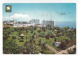 Spain Torremolinos Costa del Sol Vtg Postcard 4X6 Stamp - $4.99
