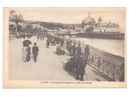 France Nice Promenade Anglais Jetee Promenade Vtg X Goutagny Postcard - $5.52