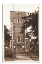UK Canterbury St Martin's Church West Front Vtg Postcard Kent England - $5.52