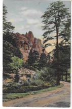 Co Colorado Springs Castlerock South Cheyenne Canyon Vtg Linen Postcard ... - $5.52