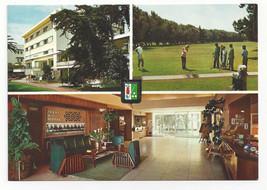Morocco Maroc Casablanca Hotel Miramar Mohamedia Multiview Golf Vtg Post... - $6.49