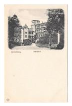 Germany Heidelberg Schlosshof Castle Ruins Vintage L. Klement Postcard - $6.69