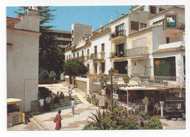 Spain Costa del Sol Plaza de San Miguel Postcard 4X6 - $5.52