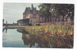 NC Asheville Biltmore Mansion Lily Pond Vanderbilt Estate Vintage Postcard - $6.49