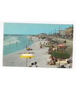 Cape May NJ Beach Scene Looking South Vintage 1963 Postcard - $7.56