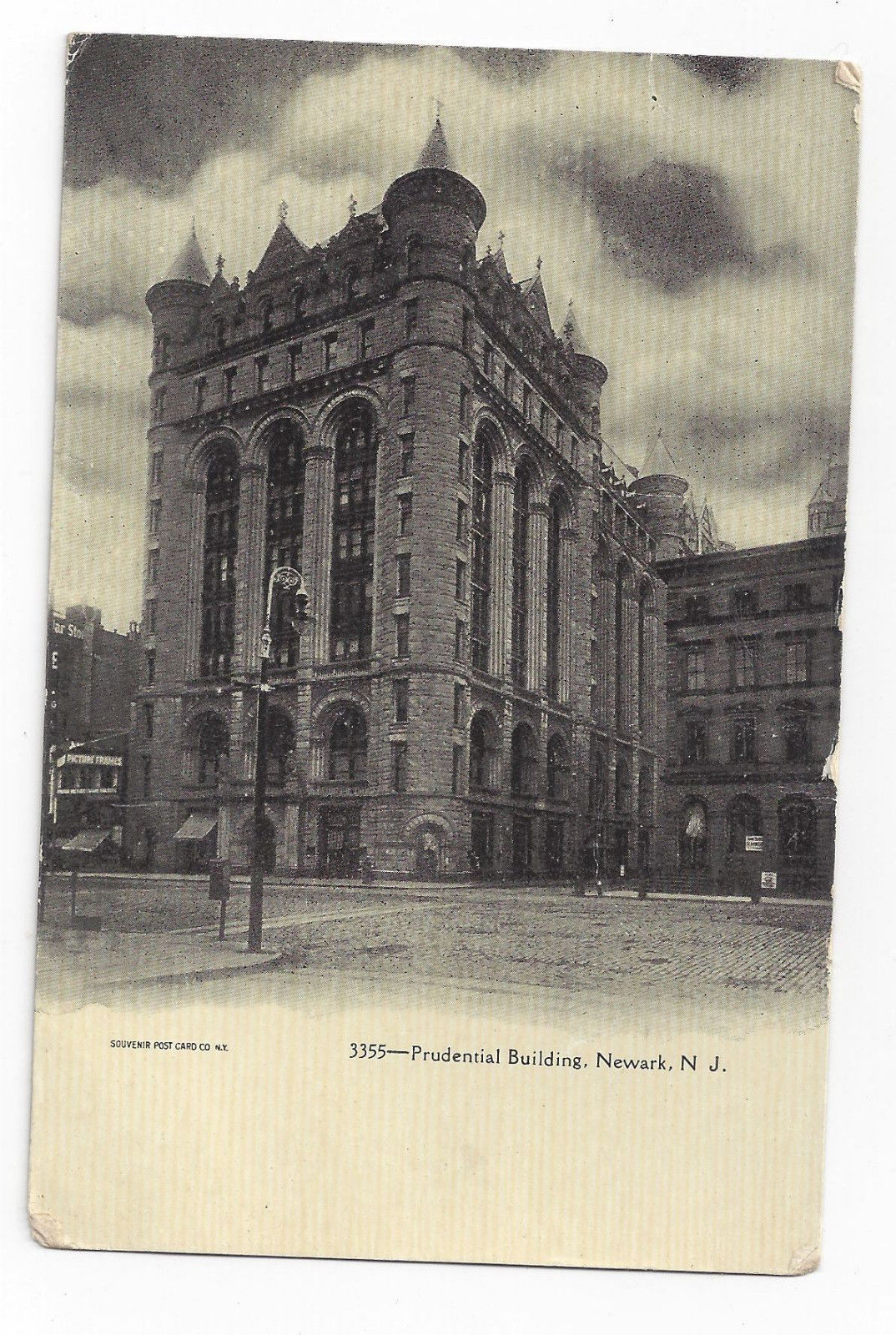 Primary image for Newark NJ Prudential Building Souvenir Post Card Co UND Postcard ca 1905