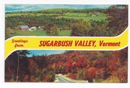 VT Sugarbush Valley Vermont Greetings Vintage 1969 Postcard - $4.84
