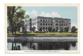 Canada Ottawa National Research Bureau Building Vtg Postcard - $5.62