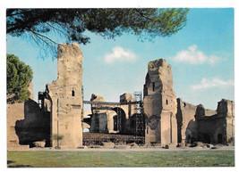 Italy Rome Terme di Caracalla Public Baths Vtg Kodak Ektachorme Postcard 4X6 - $6.49