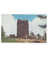 NC Mount Mitchell State Park Observation Tower Vtg Chrome Postcard - $5.62