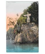 Switzerland Lucerne Luzern Christus J Vetter Statue of Christ Vtg Postcard - $4.99