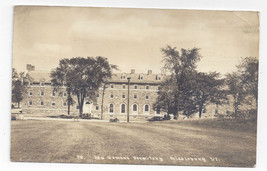 RPPC Middlebury VT College New Womens Dormitory West Forest Hall 1936 Po... - $5.81