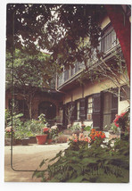 New Orleans LA Courtyard French Quarter 1993 Postcard 4X6 - $5.99