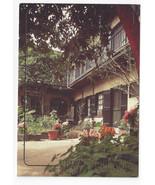 New Orleans LA Courtyard French Quarter 1993 Postcard 4X6 - $5.99