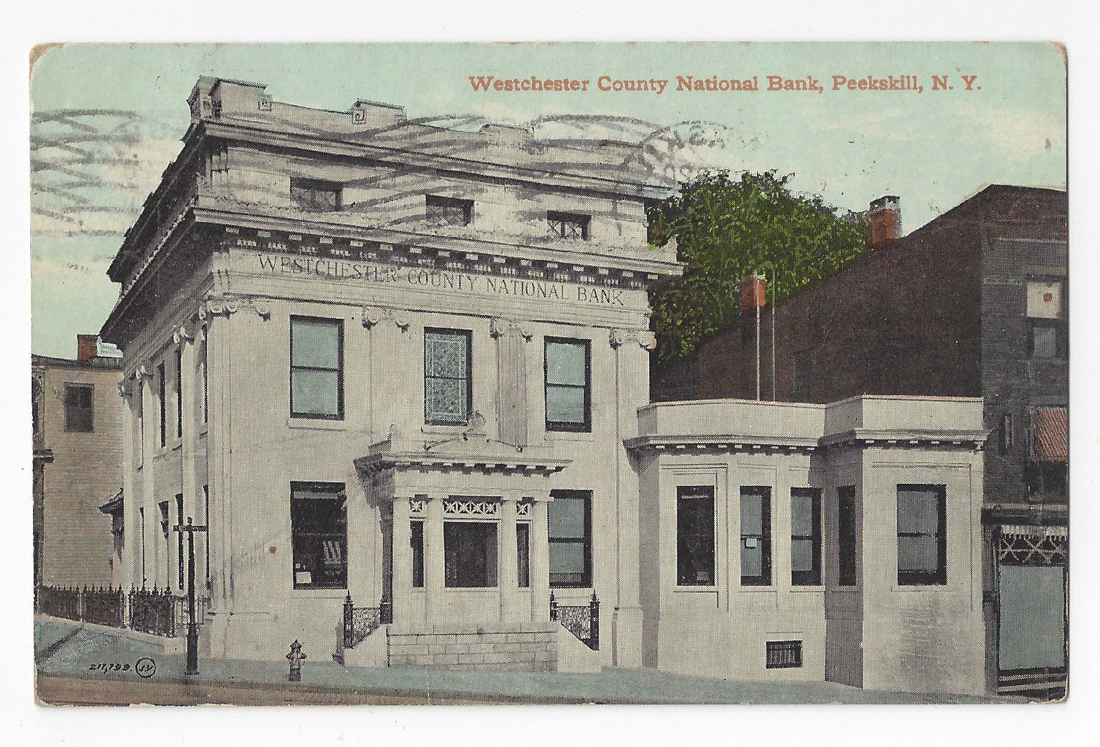 Peekskill ny westchester county national bank 1911 for Home goods in yonkers