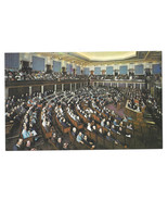 Washington DC House of Representatives 1973 Vtg Postcard - $5.81