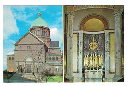 Washington DC St. Matthew's Cathedral Joseph Mary Chapel Vtg Postcard - $5.81
