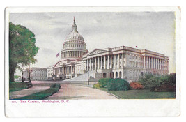 Washington DC Capitol Vtg UDB Foster and Reynolds Postcard ca 1905 - $4.84