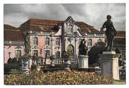Portugal Queluz National Palace Front Azereiros Garden Vintage Postcard 4X6 - $6.69