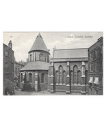 London Temple Church Vintage Valentines Postcard UK Great Britain - $5.81