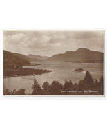 UK Scotland Loch Lomond Ben Lomond Valentine's Real Photo Postcard - $5.81