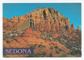 Sedona AZ Chapel of the Holy Cross Church Desert 1994 Dick Dietrich Post... - $4.99
