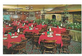 PA Limerick Lakeside Inn Restaurant Interior Route 422 Vtg Postcard - $5.62