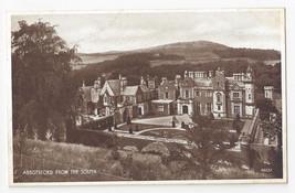 UK Scotland Abbotsford House Sir Walter Scott From South Valentines Vtg ... - $5.62