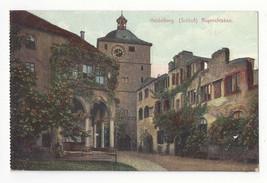 Germany Heidelberg Schloss Ruprechtsbau Vtg Postcard c 1910 - $5.81