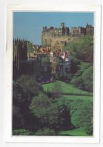 UK Scotland Edinburgh Castle Ramsay Gardens 1998 Postcard 4 3/4 x 6 3/4 - $5.81