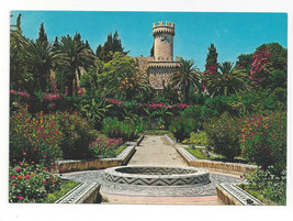 Greece Rhodes Flower Garden Rodos Rodi Mosaic Walks Vtg Postcard 4X6 - $6.99