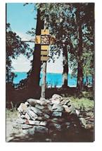 VT Isle La Motte Way of the Cross St Annes Shrine Vtg Postcard Vermont - $5.62
